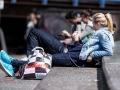 Straßenfotografie in Amsterdam