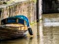 Boot in den Grachten