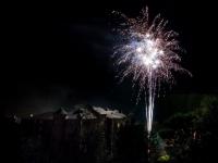 Feuerwerk in Lacaze