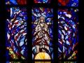 Bleiglasfenster der Stiftskirche in Stuttgart
