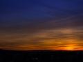 Sonnenuntergang über Stuttgart