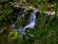 Versteckter Wasserlauf