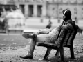 Pause am Schlossplatz