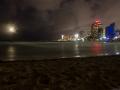 San Juan Skyline bei Nacht