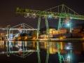Hafenkran im Stuttgarter Hafen