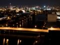 Blick vom Hafen auf Stuttgart