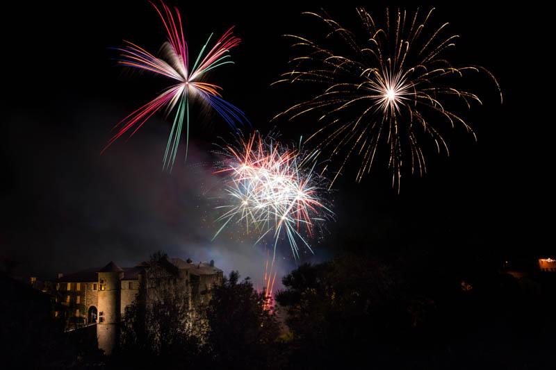 Feuerwerk Langzeitbelichtung