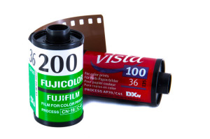 Farbfilme mit ISO 100 und 200
