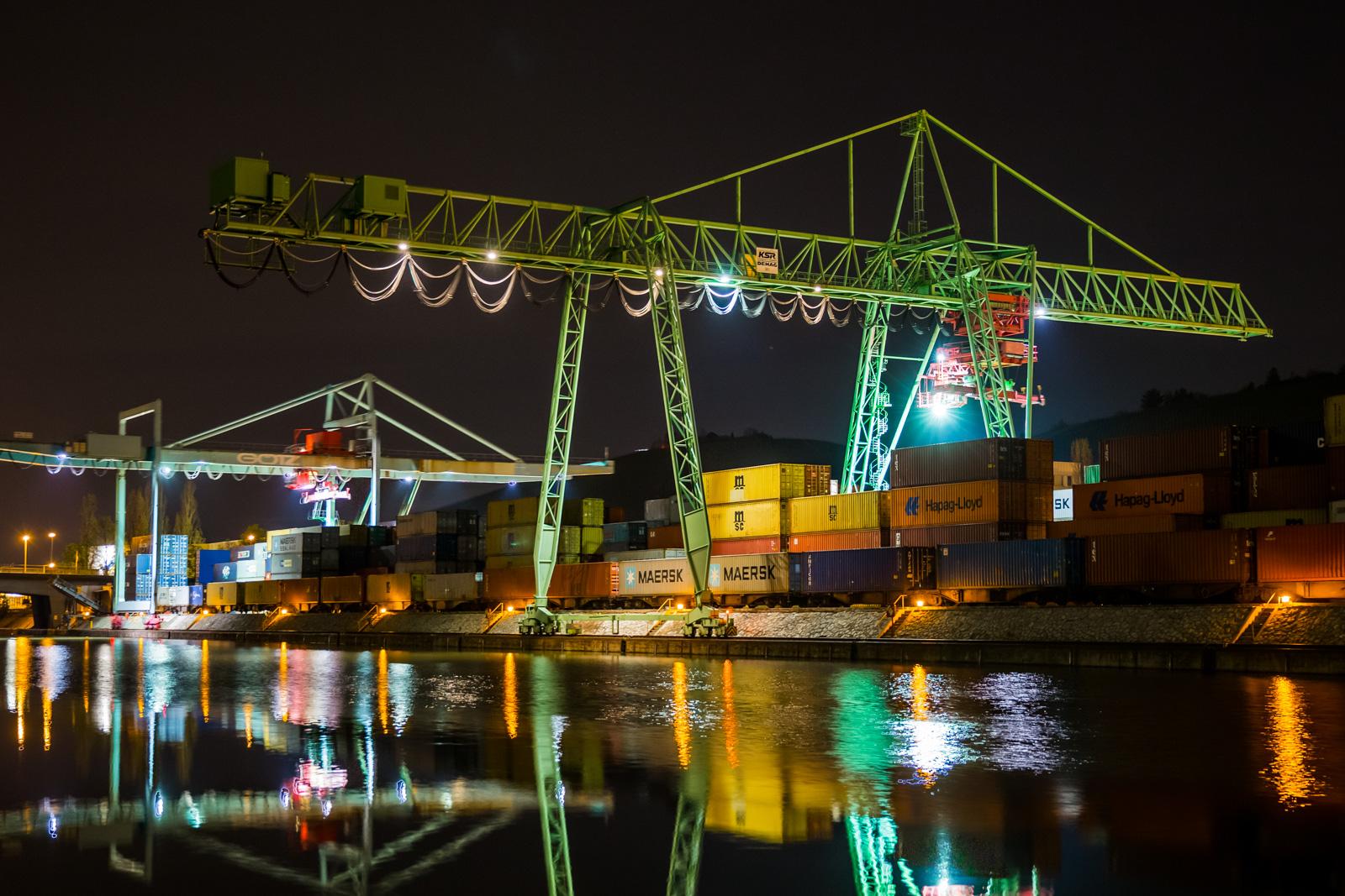 HDR vom Stuttgarter Hafen