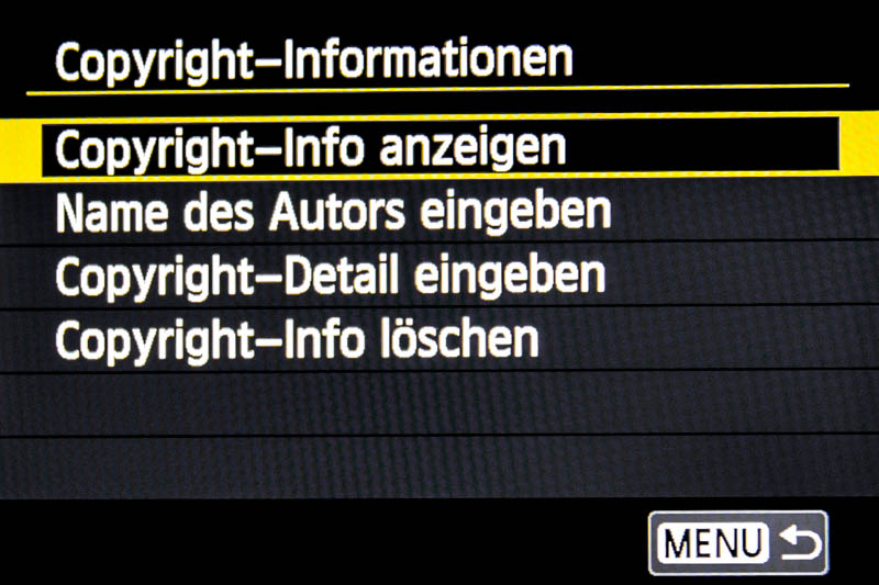 Copyright-Informationen