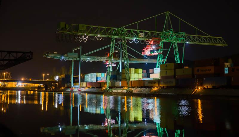 HDR vom Hafen Stuttgart