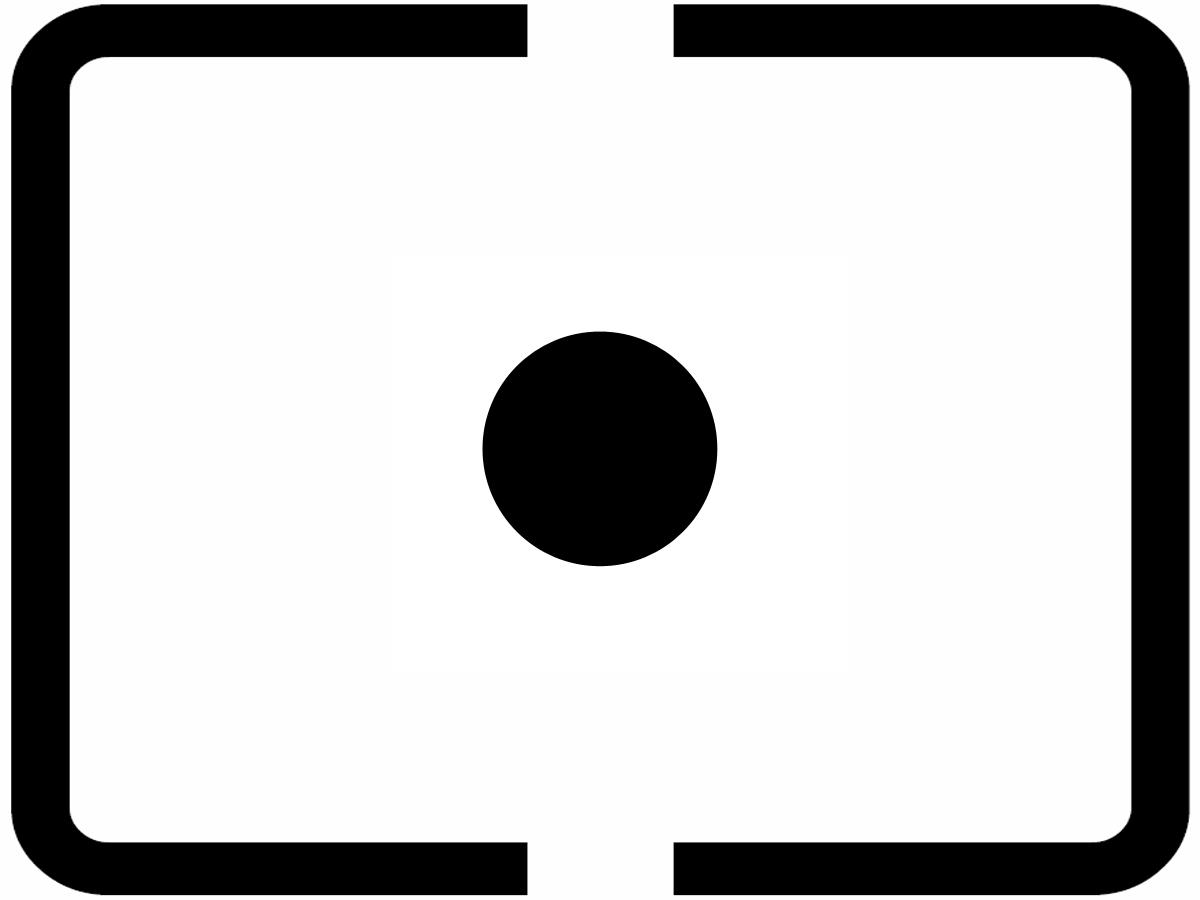 Symbol der Spotmessung
