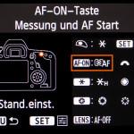 C.Fn Menü Canon EOS 6D