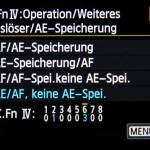 C.Fn - canon custom functions