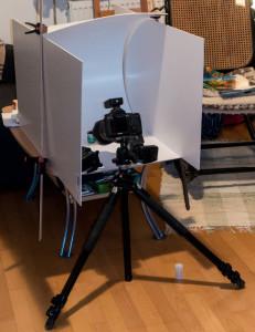 Highkey Setup ohne Softbox