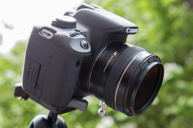 650d mit ND-Filter