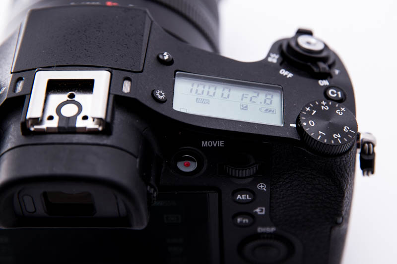 Sony RX10 II - LCD Display
