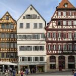 Tübingen Rathausplatz Altstadt