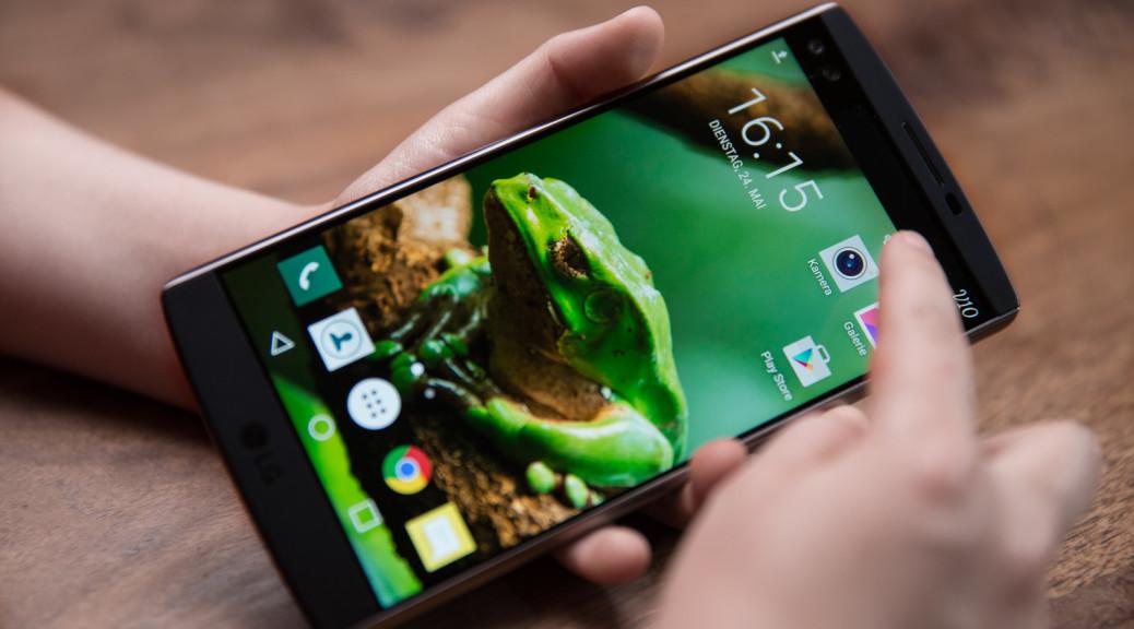 Smartphone LG V10
