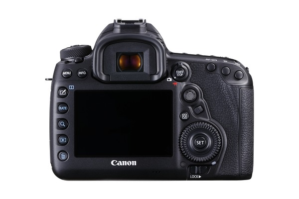 EOS 5D Mark IV Back