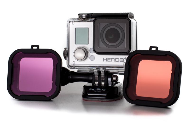 GoPro mit Filtern